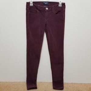 American Eagle pants 0 corduroy jeggings stretch